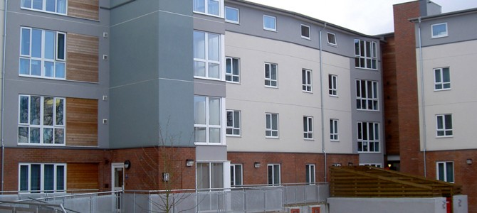 Student Accommodation Block – Brunel Close, Exeter