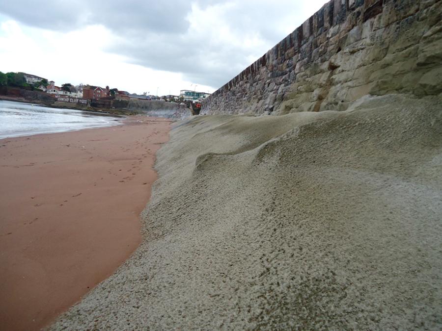 Livermead sea wall, Torquay 1