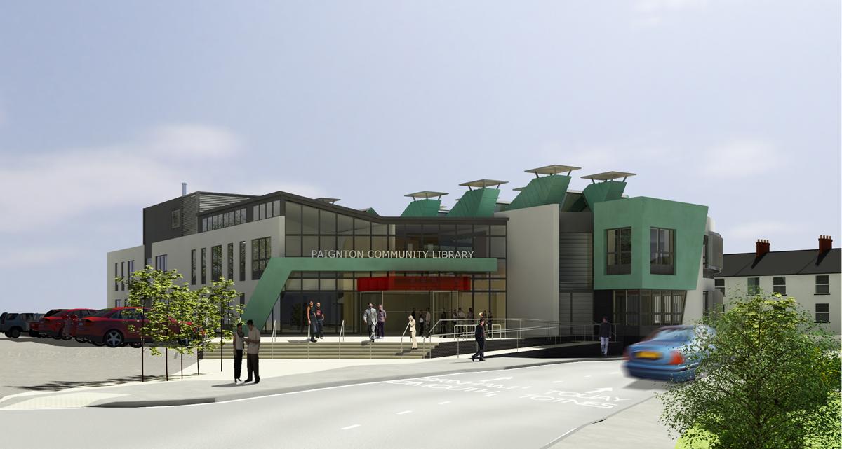 Paignton Library, Paignton 2b