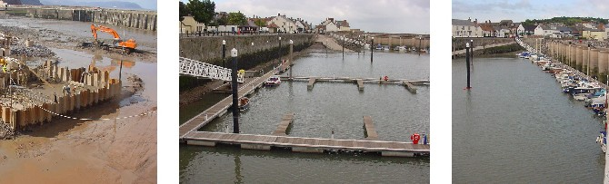 Creation of Marina facilities within Watchet Harbour, Somerset